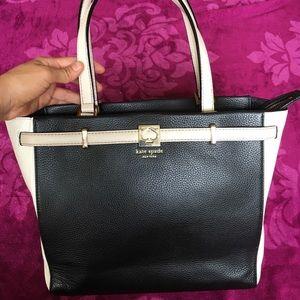 Kate spade large rectangular purse/tote